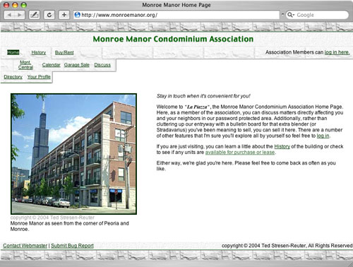 Monroe Manor Condo Association