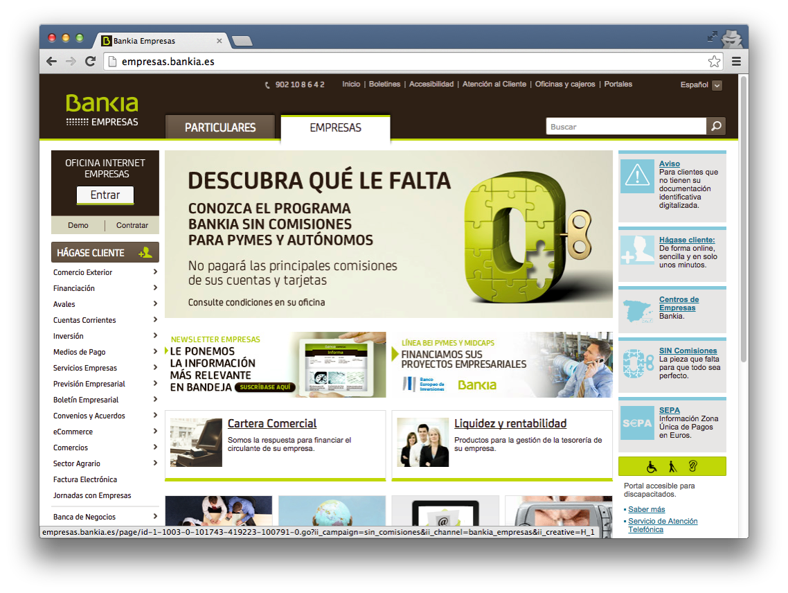 Chrome Mac Empresas Home