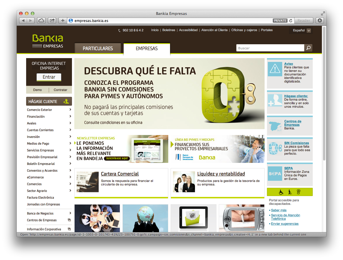 Safari Mac Empresas Home